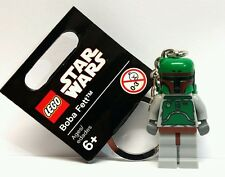 Lego Star Wars - Boba Fett Keyring/Keychain NEW Birthday