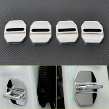 Door Lock Buckle Protective Caps Covers Fit Mercedes-Benz B C E GLK SLK ML Class
