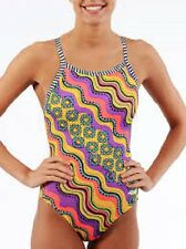 Dolfin Uglies Charo V-2 Back One Piece Swimsuit  GIRL size 24