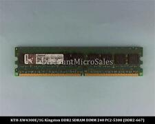 Kingston KTH-XW4300E/1G DDR2 1GB PC2-5300 ECC 667Mhz RAM Memory