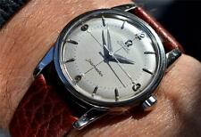 MEN'S OMEGA SEAMASTER AUTO 501 SUPER TEXTURED + HAIR DIAL 1955 VINTAGE StSt CASE