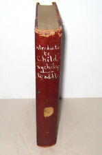 An Introduction To Child Psychology Charles Waddle Riverside Press 1918 1st Ed.