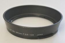 (PRL) PARALUCE OLYMPUS AF 28-85mm F 3,5-4,5 JAPAN PLASTIC LENS HOOD PARASOLEIL