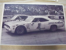1970 PLYMOUTH ROAD RUNNER  NASCAR RACE CAR ?    11 X 17  PHOTO /  PICTURE