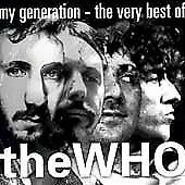 THE WHO CD VERY BEST OF MY GENERATION ROGER DALTRY PETE TOWNSHEND KEITH MOON