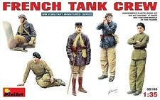 WW II FRENCH TANK CREW (TO HOTCHKISS, RENAULT, SOMUA, PANHARD, ETC) 1/35 MINIART