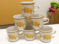 LOT OF 6 Hallkraft SPLENDROUS  COFFEE TEA Cup  Mikasa Artisan KA102