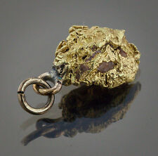 Californian Natural Gold Nugget Pendant, 4.17 Grams, Tested over 22K