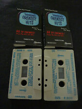 TELEVISIONS GRESTEST HITS RARE DOUBLE CASETTE TAPE! THE MAN FROM UNCLE DRAGNET