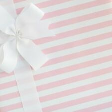 Candy Striped Wrapping Paper / Gift Wrap - Pink Frosting - by SmashCake & Co.