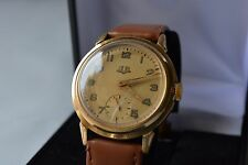GUB Glashutte gold beautifull collectable german wrist watch