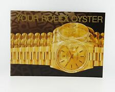 Your Rolex Oyster Booklet Manual 1993 English