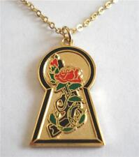 The Dark Tower Stephen King Book Comic Marvel KEYHOLE Pendant Necklace