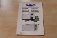 71391) Mercedes LKW 1213 HKS Hahn & Kolb Container Prospekt 198?