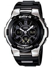 Casio Baby-G * BGA110-1B2 Chaton Slim Marine in Glossy Black & Silver COD PayPal