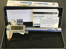 "iGaging  0-6"" IP67 Coolant Digital Caliper, iGaging 100-800-06, IP67, New"