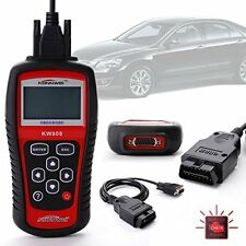 AUDI A6 OBD2 Professional Car Diagnostic Code Reader Scanner Tool OBD KW808 UK