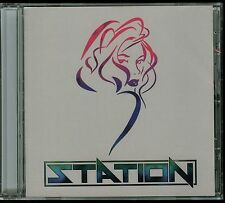 Station self titled 2015 CD s/t Private Indie Hair Glam Metal Highly Recommend