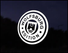 VW wolfsburg Edition Car Decal Sticker JDM Vehicle Bike Bumper Graphic Funny