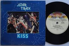 KISS Star Trax EP 4 Track AUSTRALIA ONLY 1979 EX Cond GENE SIMMONS Glam STARTRAX