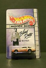 "Custom HotWheels 300zx NISSAN and package from  ""Movie Metal""  BLIND DATE"