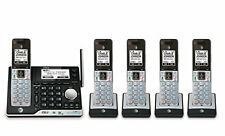 AT&T 5 Handset DECT 6.0 Bluetooth Digital Cordless Home Phone Answering System