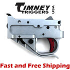 Timeny Ruger 10/22 Drop In Competiton Trigger Group - Silver Housing & Red Shoe