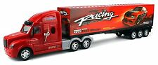 Motorsport Racing 12 Wheel Semi Trailer Remote Control RC Transporter Truck To