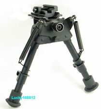 "6-9"" Bipod Heavy Duty 50 Degree swivel tiltable Pivot with sling adapter"