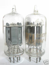 2 matched 1960s RCA Clear Top 12AU7A (ECC82) tubes (94/91, 91/95, min:56/56)
