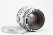 HELIOS 44 2/58 white  M39 mount USSR silver Russian Lens 8 blades