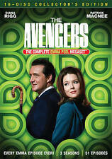 The Avengers Complete Emma Peel Mega-Set (DVD, 16-Disc Set)