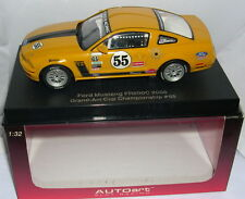 AUTOART 13722 SLOT CAR FORD MUSTANG FR500C  #55  GRAND-AM CUP CHAMPIONSHIP   MB