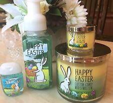 Bath & Body Works  Easter Cotton Candy Marshmallow Gift Set ���� Inc Lrg Candle