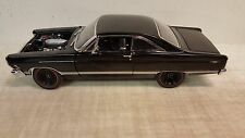 GMP 1:18 1967 FAIRLANE XL 427 CODE IN BLACK - SUPERB DIECAST - SUPERB