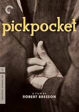 Pickpocket, DVD, Martin LaSalle, Robert Bresson