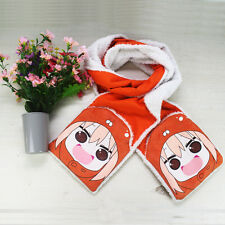 "Hot Anime 73"" Winter Warm Scarf Doma Umaru Plush Collar Two head warm handbags"