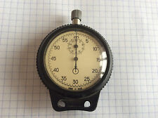 Vintage Old SOVIET USSR Stopwatch AGAT Mechanical Pocket Chronometer