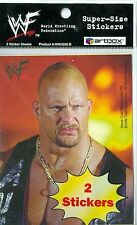 1999 World Wrestling Federation 99 WWF SuperSize 2 Sticker Stone Cold Undertaker