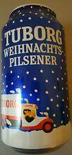 1 lata de cerveza vacía Tuborg navideña Pilsener - 0,75 L-MHD 2016 muy bella decoración