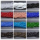Wholesale Quality Czech Glass Faceted Round Ball Spacer Loose Beads 6MM 8MM 10MM