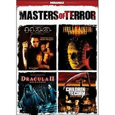 DVD - Horror - Masters of Terror: Halloween: H20 - Hellraiser: Inferno - Dracula