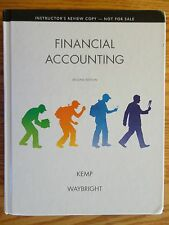 FINANCIAL ACCOUNTING Second 2nd Edition Instructor's Review Copy Kemp Waybright