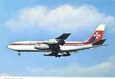 Air Malta Boeing 720-047B TF-VLC (Scrapped in May 1981) Postcard