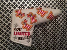 Scotty Cameron Custom Shop 2011 LTD Dancing Junk Yard Dog U.S. Flag White