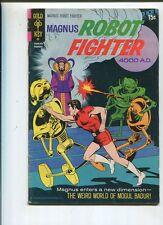 Magnus Robot Fighter 4000 A.D. #30 Very Good  Weird World Of Mogul Baduri *SA