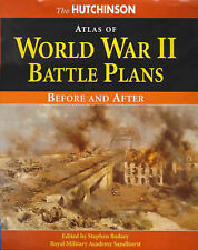 The Hutchinson Atlas of World War II Battle Plans: Before and After-ExLibrary