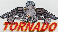 RAF Royal Air Force Tornado Aircraft Cut-Out  Embroidered Badge Patch