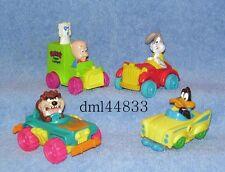 1993 McDonalds Looney Tunes Quack-Up Cars Complete Set & U3 - Boys & Girls, 3+