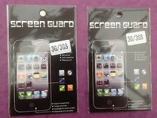 IPHONE 3 3G 3GS   CLEAR LCD SCREEN PROTECTOR GUARD FILM COVER   BRAND NEW  QTY=2